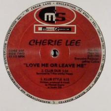 """Cherie Lee - Love Me Or Leave Me - 12"""" Vinyl"""