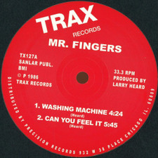 "Mr. Fingers - Washing Machine / Can You Feel It - 12"" Vinyl"