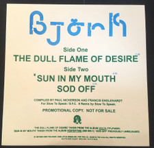 "Bjork - The Dull Flame Of Desire - 12"" Vinyl"