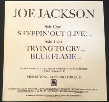 "Joe Jackson - Steppin' Out (Live) - 12"" Vinyl"