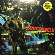 Bob Marley & The Wailers - Soul Rebels - LP Yellow Vinyl