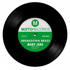 "Breakdown Brass - Mary Jane / The Horseman - 7"" Vinyl"