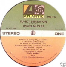 "Gwen Mccrae - Funky Sensation / Keep The Fire Burning - 12"" Vinyl"