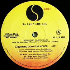 "Talking Heads - Burning Down the House - 12"" Vinyl"