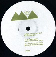 "DJ Reverend P - Morgan Avenue Edits No. 4 - 12"" Vinyl"