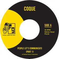 "Coque - People Let's Communicate - 7"" Vinyl"