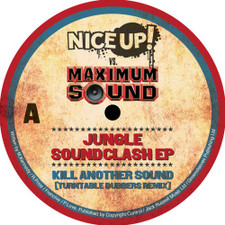 "Various Artists - Nice Up! Vs. Maximum Sound: Jungle Soundclash - 12"" Vinyl"