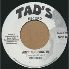 "Chronixx - Ain't No Giving In - 7"" Vinyl"