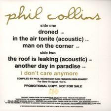 "Phil Collins - Droned - 12"" Vinyl"