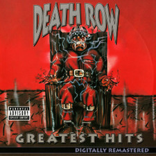 Various Artists - Death Row Greatest Hits - 4x LP Clear Vinyl