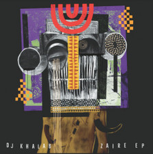 """Dj Khalab - Zaire Ep - 12"""" Vinyl"""
