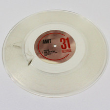 "Amit - Red Flag - 10"" Clear Vinyl"