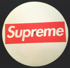 Supreme - Logo - Single Slipmat