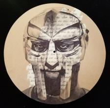 MF Doom - Madvillainy Remix - Single Slipmat