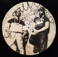 Eric B. & Rakim - Street Shot - Single Slipmat