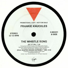 """Frankie Knuckles - The Whistle Song - 12"""" Vinyl"""