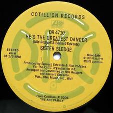 """Sister Sledge - We Are Family / He's The Greatest Dancer - 12"""" Vinyl"""