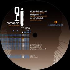 """Proem - Socially Inept Sampler - 12"""" Vinyl"""