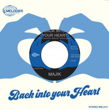 "Majik - Back Into Your Heart - 7"" Vinyl"