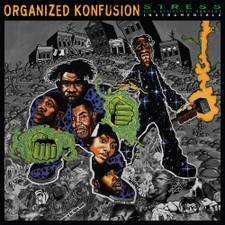 Organized Konfusion - Stress (The Extinction Agenda) Instrumentals - 2x LP Vinyl