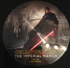 """Celldweller / Scandroid - The Imperial March / The Force Theme - 7"""" Picture Disc Vinyl"""