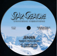 "Jehan - Minute Papillon EP - 12"" Vinyl"