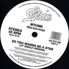 "Mtume - So You Want To Be A Star (Danny Krivit Edit) - 12"" Vinyl"