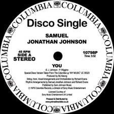 "Samuel Jonathan Johnson - You / My Music - 12"" Vinyl"