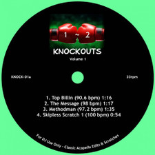 "DJ Sausage Fingaz - 1-2 Knockouts Vol. 1 - 7"" Colored Vinyl"