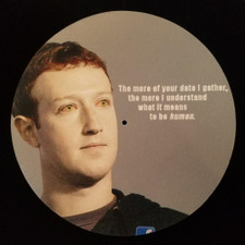 Mark Zuckerberg - What It Means To Be Human - Single Slipmat