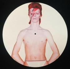 David Bowie - Aladdin Sane (Torso) - Single Slipmat