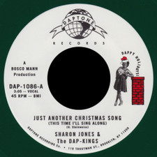 "Sharon Jones & The Dap-Kings - Just Another Christmas Song - 7"" Colored Vinyl"