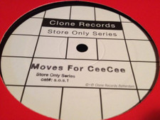 "Legowelt - Moves For CeeCee - 12"" Vinyl"