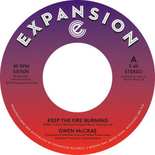 "Gwen McCrae - Keep The Fire Burning / Funky Sensation - 7"" Vinyl"