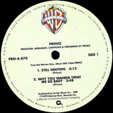 "Prince - Still Waiting - 12"" Vinyl"