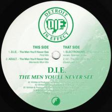 """D.I.E. - The Men You'll Never See Ep - 12"""" Vinyl"""