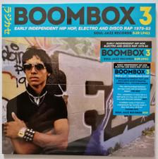 Various Artists - Boombox 3 (Early Independent Hip Hop, Electro, & Disco Rap 1979-83) - 3x LP Vinyl
