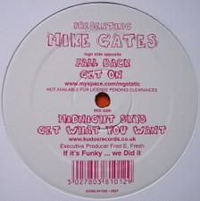 "Mike Gates - Fall Back - 12"" Vinyl"