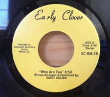 """Early Clover - Who Are You - 7"""" Vinyl"""