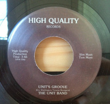 """The Unit Band - Unit's Groove - 7"""" Vinyl"""