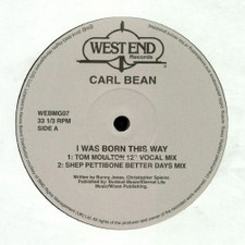 "Carl Bean - I Was Born This Way Remixes - 12"" Vinyl"