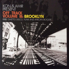 Kon & Amir - Off Track Volume III: Brooklyn - 2x LP Vinyl