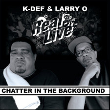 """Real Live - Chatter In The Background - 7"""" Vinyl"""