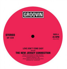 "The New Jersey Connection - Love Don't Come Easy - 12"" Vinyl"