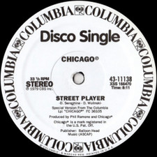 "Chicago/Boz Scaggs - Street Player/Lowdown - 12"" Vinyl"