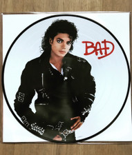 Michael Jackson - Bad - LP Picture Disc Vinyl