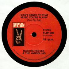"Martha Reeves & The Vandellas / Sugar Pie DeSanto - I Can't Dance To That Music You're Playin' / Go Go Power - 7"" Vinyl"