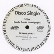 "Toto - Georgy Porgy / Child's Anthem - 12"" Vinyl"