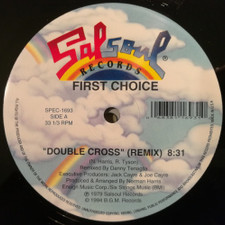 "First Choice - Double Cross / Love Thang - 12"" Vinyl"