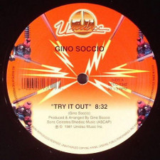 "Gino Soccio - Try It Out - 12"" Vinyl"